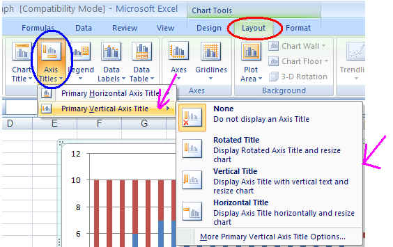 Excel graphing change to max value on the vertical axis scale if it is greater than the maximum bug count value highlight the number scale on the vertical axis ccuart Images